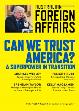 Australian Foreign Affairs 8: Can We Trust America?