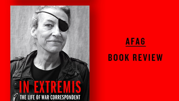 Cover of In Extremis on red background